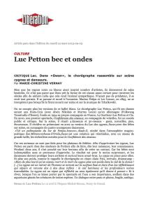 Libération - Mars 2013