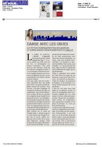 Le Figaro - Avril 2015