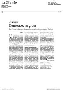 Le Monde - Avril 2015
